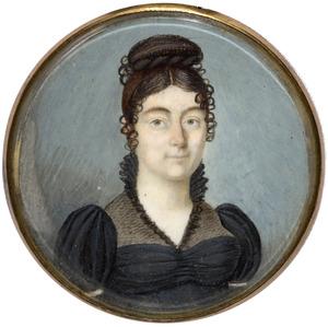 Portret van Henriette Aimee Antoinette d' Homassel (1790-1867)