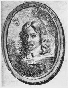 Portret van Justus van Attevelt (1621-1692)