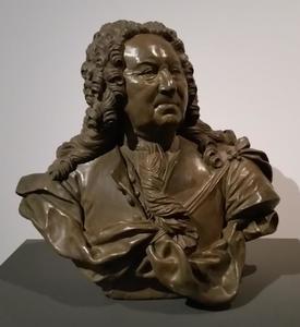 Portret van David van Mollem (1670-1746)