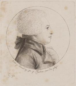 Portret van Cornelis Johan de Lange van Wijngaarden (1752-1820)