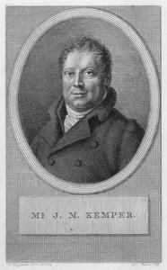 Portret van Joan Melchior Kemper (1776-1824)