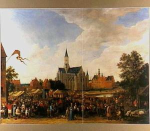 Marktdag te Gent