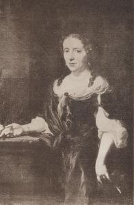 Portret van Maria Vrijburch (1631-1680)