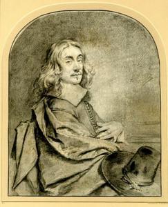 Portret van een man, zogenaamd zelfportret van Cornelis Visscher II (....-1658)