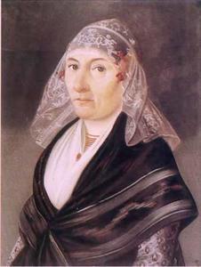 Portret van Trijntje Groeneboom (1761-1833)