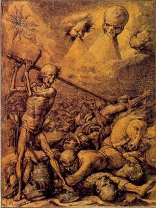 De Dood roeit het menselijk ras uit