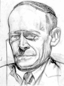 Portret van Jacques Karel Rensburg (1870-1943)