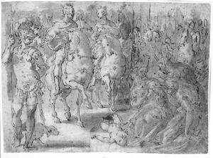 De rechtvaardigheid van keizer Trajanus
