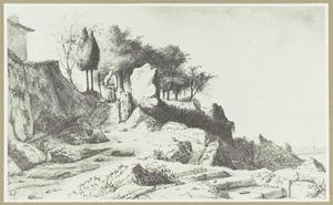De Ermitage van de Capucijner monniken bij Nantes