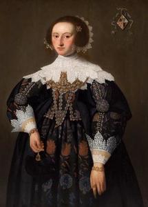 Portret van Ansk van Lycklama (?-1667)