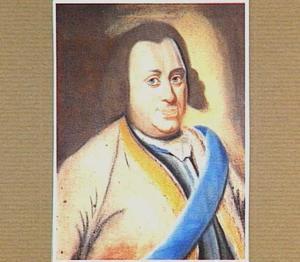 Portret van Willem IV prins van Oranje-Nassau (1711-1751)