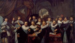 Schutters van de compagnie van kapitein Dirck Tholinx en luitenant Pieter Adriaensz. Raep, 1639