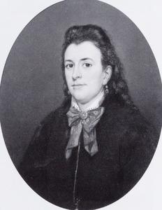 Portret van Catharina Margaretha Visscher (1848-1941)