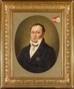 Portret van Alexander Wilhelmus Josephus Johannes baron van Hugenpoth tot Aerdt (1780-1859)