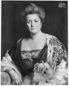 Portret van Johanna Wilhelmina Schimmelpenninck (1863-1922)
