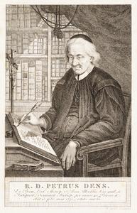 Portret van Petrus Dens (1690-1775)