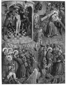 De gevangenneming, Christus voor Kajafas, de geseling, de kruisdraging