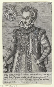 Portret van Anna van Saksen (1544-1577)