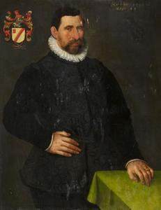 Portret van Pieter Pietersz. van der Burch (?-1610)