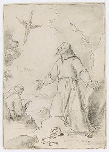Het visioen van de H. Franciscus