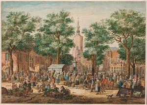 De Grote Markt in Den Haag