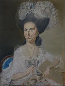 Portret van Cornelia Maria van Helden