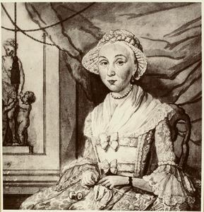 Portret van Neeltje Ridderus (1727-1803)