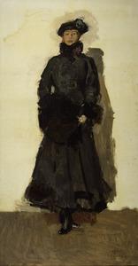 Portret van de danseres Margaretha Geertruida Zelle (1876-1917)