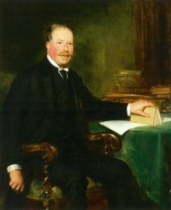 Portret van Samuel van Eeghen (1853-1936)