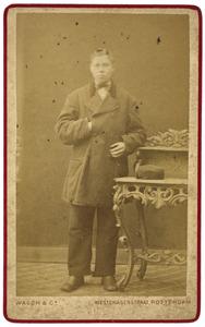 Portret van Willem Jacobus de Willigen (1860-)