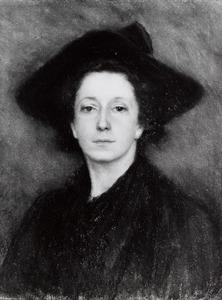 Portret van Abrahamina Arnolda Louise Hubrecht (1855-1913)