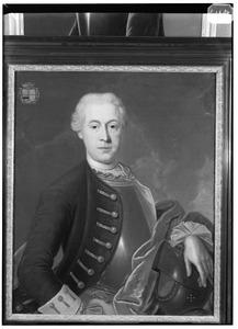 Portret van Jean Louis Charles (Joannes Ludovicus Carolus) de Heusch (1723-1775)