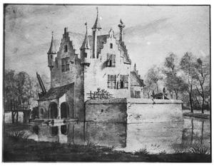 Rechter- en achterzijde van het Huis te Gapinge