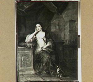 Portret van Henriette gravin van Nassau-Zuylensteyn (1688-1759), echtgenote van Frederik Christiaan van Reede, tweede graaf van Athlone