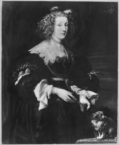 Portret van Maria de Raet (?-?), echtgenote van Philippe le Roy