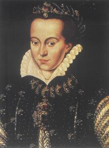 Portret van Anna van Saksen, prinses van Oranje (1544-1577)