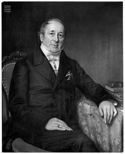 Portret van Hendrik Rudolph Willem Baron van Goltstein (1790-1868)