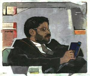 Portret van Paul Eherenfest (1880-1933)