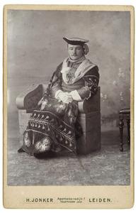 Portret van Willem Johan Jacob Cornelis Bijleveld (1878-1952)
