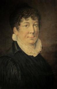 Portret van Anna Maria Moens (1775-1832)