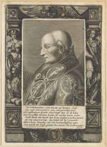 Portret van Adriaan Florisz. Boeyens (1459-1523), als paus Adrianus VI