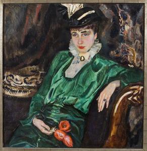 Portret van Mademoiselle P.