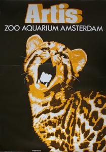 Artis-Affiche: 'Artis Zoo Aquarium Amsterdam'