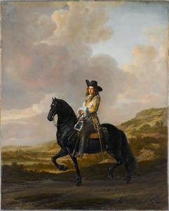 Ruiterportret van Pieter Schout Muilman (1640-1669)