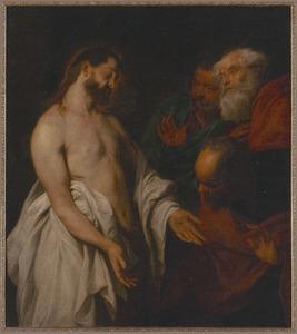 De verschijning van Christus en het ongeloof van de H.Thomas