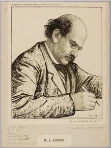 Portret van Mr. A. Kerdijk