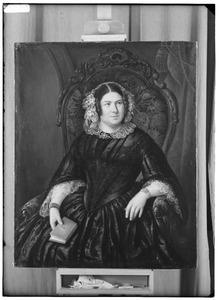 Portret van Anna uyt den Bogaard (1800-1863)