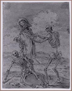 Quevedo en de skeletten van Juan de la Encina en koning Perico (Suenos 1641, boek II, vierde droom)