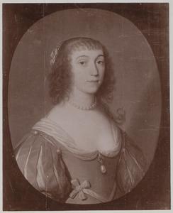 Portret van Mauritia Eleonora van Portugal (1609-1679)