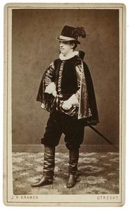 Portret van Constantijn Abraham Lodewijk Jacobse Boudewijnse (1857-1925) als Graaf van den Bergh